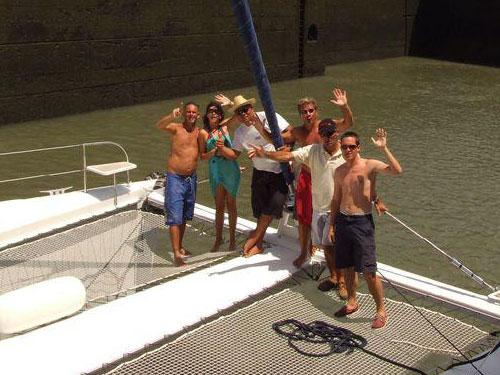 Dernière photo de groupe avant départ de Manu