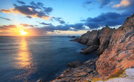 Pointe du Raz - coucher de soleil